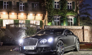 Bentley Continental GT Speed Flying Spur V8 Genfer Autosalon 2014