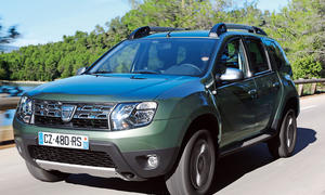 Dacia Duster dCi 110 4x4 Prestige Bilder technische Daten Test