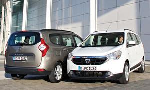 Dacia Lodgy Kaufberatung Bilder technische Daten