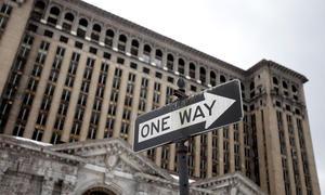 US-Autostadt Detroit City Pleite Insolvenz Bankrott Sanierungsplan