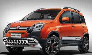Fiat Panda Cross Genfer Autosalon 2014 4x4 Allradantrieb Neuheit