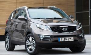 Kia Sportage 2014 Facelift Preis Bilder SUV Markteinführung