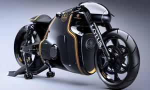 Lotus C-01 2014 Motorrad Tron Bilder Kodewa Performance Film-Bike