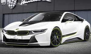Lumma CLR i8 BMW Studie 2014 Tuning Hybridsportwagen