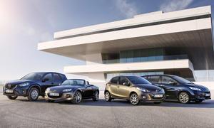 Mazda 2 Sendo 2014 Sondermodelle Bilder