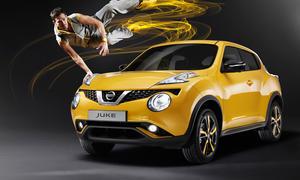 Nissan Juke Facelift Genfer Autosalon 2014 Kompakt-SUV Design