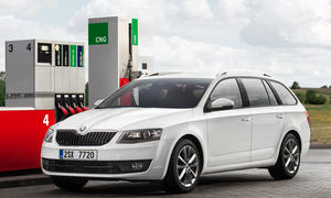 Skoda Octavia G-Tec 2014 Bivalent Ergas Benzin Genfer Autosalon