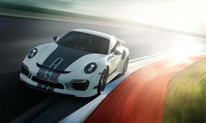TechArt Porsche 911 Turbo S Tuning 991 Genf 2014