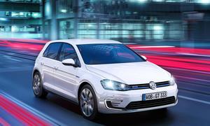 VW Golf GTE 2014 Genfer Autosalon Plug in-Hybrid Kompaktklasse