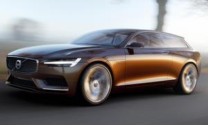 Volvo Concept Estate Genfer Autosalon 2014 Kombi Studie V90
