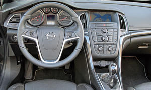 Bilder Opel Cascada 1.4 Turbo Vergleichstest Kompakte Cabrios Cockpit