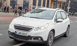 Bilder Peugeot 2008 82 VTi Crossover-Vergleich