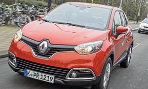 Bilder Renault Captur Energy TCe 90 eco² Crossover-Vergleich