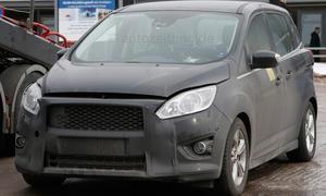 Ford C-Max Facelift 2014 Erlkoenig Neuheiten Kompaktvan Bilder Prototyp