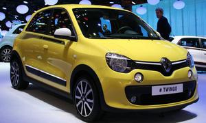 Kleinwagen Neuheiten Genfer Autosalon 2014 Renault Twingo