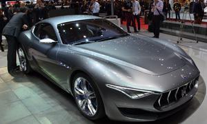 Maserati Alfieri 2014 Genfer Autosalon Coupe Studie