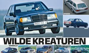 Mercedes Tuner 80er AMG Brabus Bilder Vergleich
