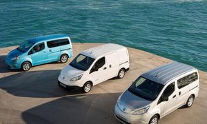 Nissan Elektroauto e-NV200 technische Daten Deutschland Marktstart