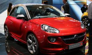 Opel ADAM S Concept Autosalon Genf 2014 sportlicher Kleinwagen Sportversion