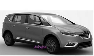 Renault Espace 2015 Van Patentzeichnungen Design Leak