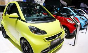 Smart Carsharing Daimler Konzept Firmenkunden 2014