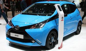 Toyota Aygo Autosalon Genf 2014 Premiere City Car Bilder Kleinstwagen