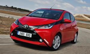Fahrbericht Toyota Aygo 1.0 2014 Kleinwagen Bilder technische Daten