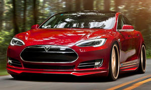 Unplugged Performance Tesla Model S Tuning Elektroauto Bodykit Spoiler