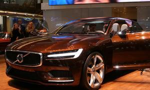 Volvo Concept Estate 2014 Genfer Autosalon Kombi-Studie Bilder