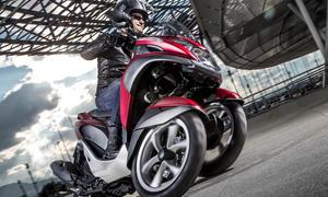 Yamaha Tricity 2014 Dreirad Scooter Motorrad Neigetechnik