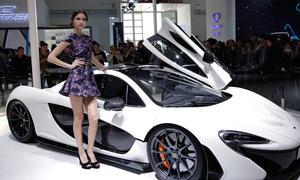 Messe-Girls 2014 Auto China Schönheiten Galerie Hostessen Live-Bilder