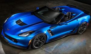 Chevrolet Corvette Z06 Convertible New York Auto Show 2014 Premiere