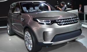 Land Rover Discovery Vision 2014 New York Auto Show SUV Studie Geländewagen Concept Car