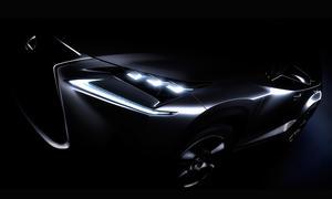 Lexus NX 2014 Teaser Peking Motor Show Weltpremiere Kompakt-SUV