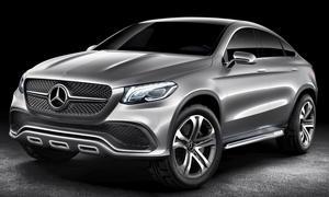 Mercedes Coupe SUV Concept 2014 MLC SUV-Coupé Auto China Peking Studie