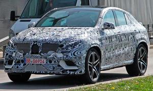 Mercedes MLC 2015 Erlkönig M-Klasse Coupé SUV X6-Gegner