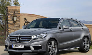 Mercedes SUV-Coupé MLC 2014 Auto China Peking Studie Crossover ML Coupé