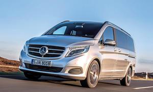 Mercedes V 250 BlueTEC Fahrbericht Bilder technische Daten