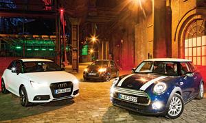 Mini Cooper Audi A1 Citroen DS3 Vergleich Bilder technische Daten Kompaktklasse