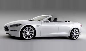 Newport Convertible Tesla Model S Cabrio Umbau Elektroauto
