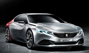 Peugeot Exalt 2014 Peking B14 Auto China Studie viertüriges Coupé
