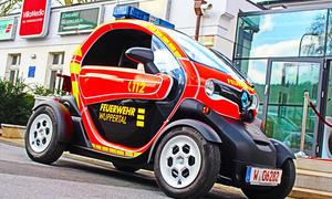Renault Twizy Feuerwehr Wuppertal 2014 Firefighter Elektro Kleinstwagen