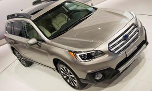 Neuer Subaru Outback New York Auto Show 2014 Neuheiten Premiere Allrad-Kombi