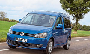 VW Caddy 1.6 TDI BlueMotion 2014 Test