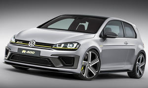 VW Golf R 400 Auto China 2014 Sportwagen Studie Concept Car