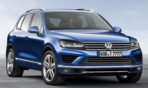 VW Touareg Facelift 2014 Peking SUV Weltpremiere China