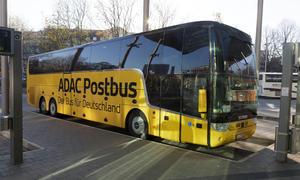 ADAC Postbus Fernbus Geschaeft moeglicher Ausstieg