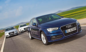 Audi A3 g-tron TDI TFSI 2014 Vergleich Benzin Diesel Erdgas Bilder