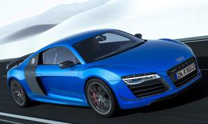 Audi R8 LMX 2014 Laserlicht-Weltpremiere Sondermodell Lichttechnik Laser-Scheinwerfer