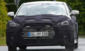 Hyundai Veloster Facelift 2015 Erlkönig Prototyp Neuheiten Sportcoupé Kompaktklasse